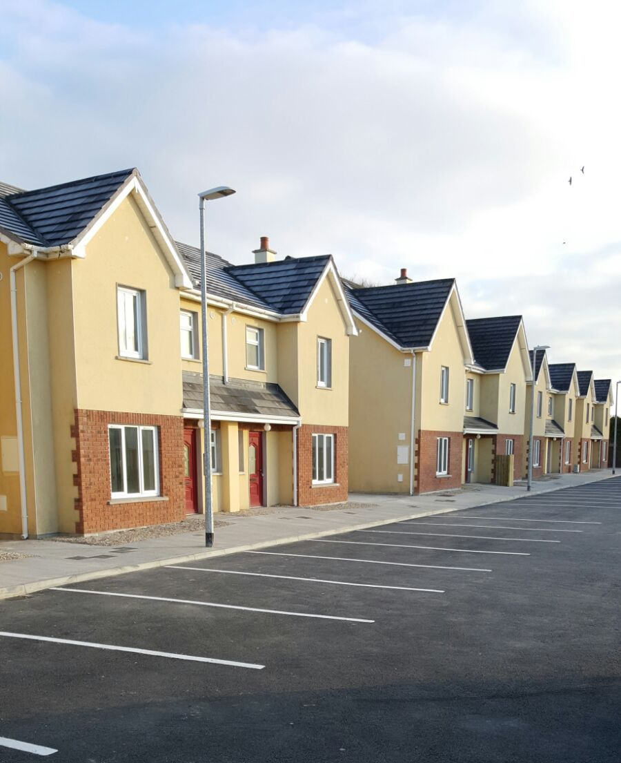 Oaklee Housing Development Mountrath Co Laois Leetherm